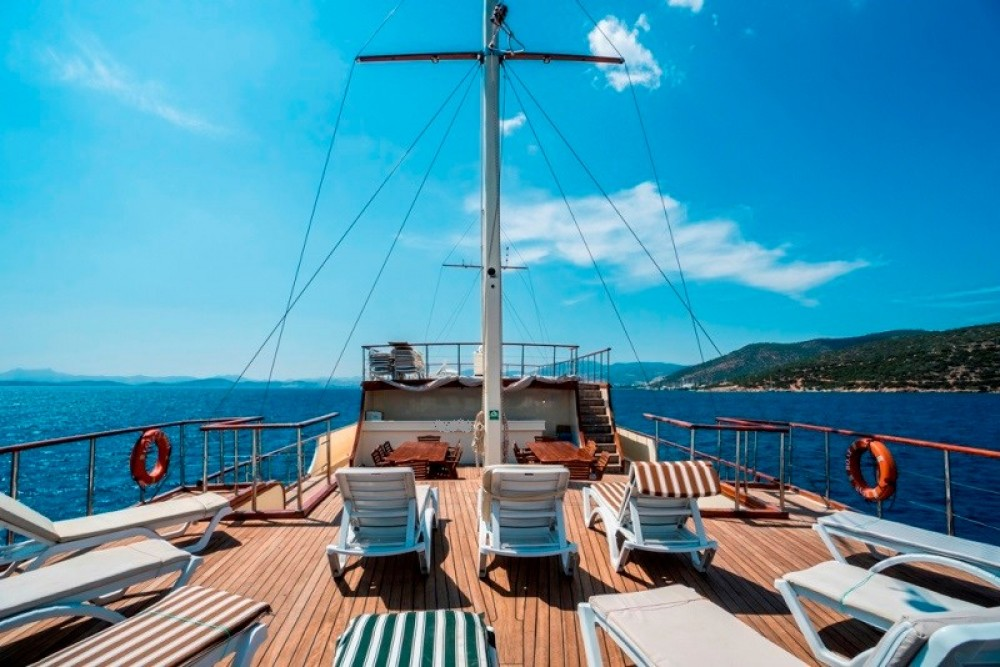 Rental Sailboat in Muğla - custom built YACHT Gulet