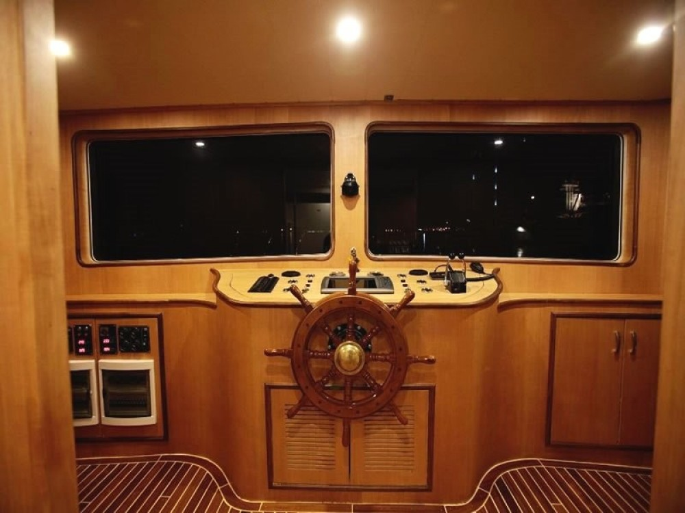 Rent a Custom Built Motor Yacht Muğla