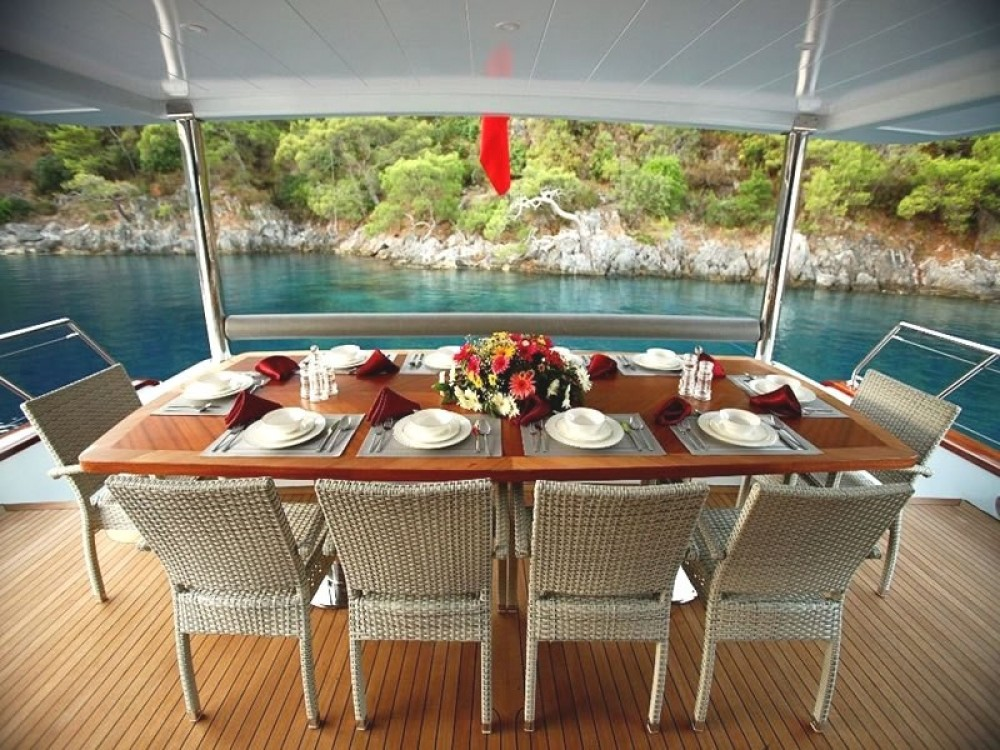 Custom Built Motor Yacht between personal and professional Muğla
