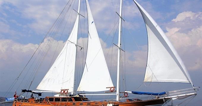 Rental Sailboat in Rhodes - Custom Built Gulet