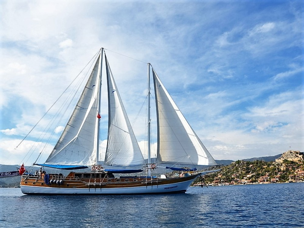 Hire Sailboat with or without skipper Custom Built Aegean