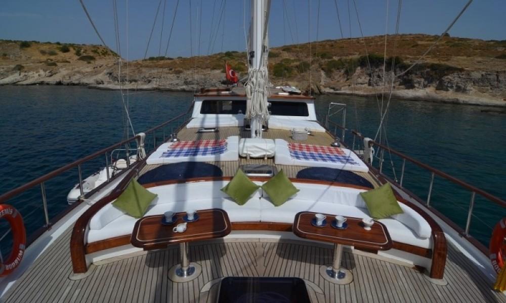 custom built gulet Gulet between personal and professional Muğla