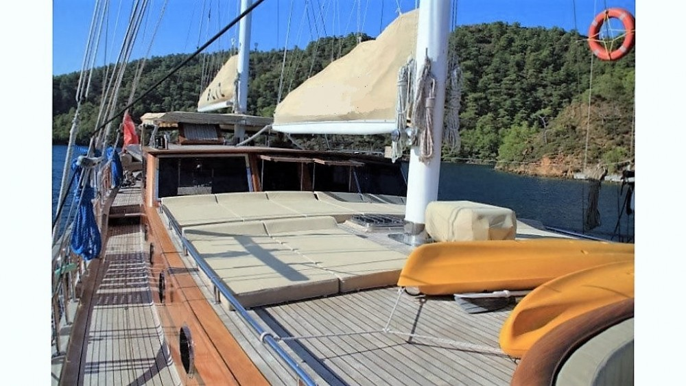 Hire Sailboat with or without skipper Custom Built Göcek