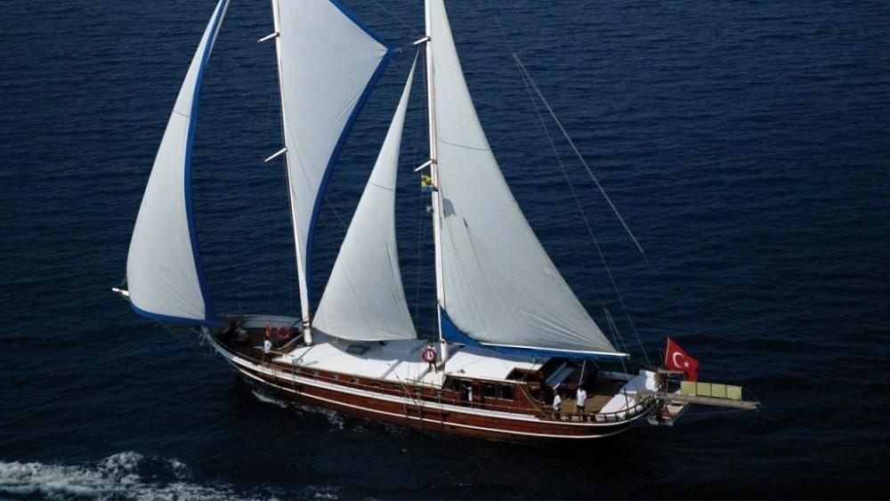 Rental Sailboat in Muğla - Custom Built Gulet