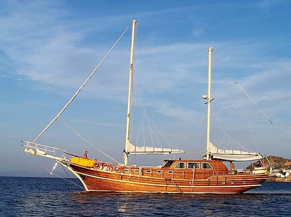 Custom Built Gulet between personal and professional Aegean Region