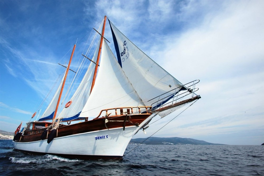 Hire Sailboat with or without skipper Gulet Custom Built Aegean Region