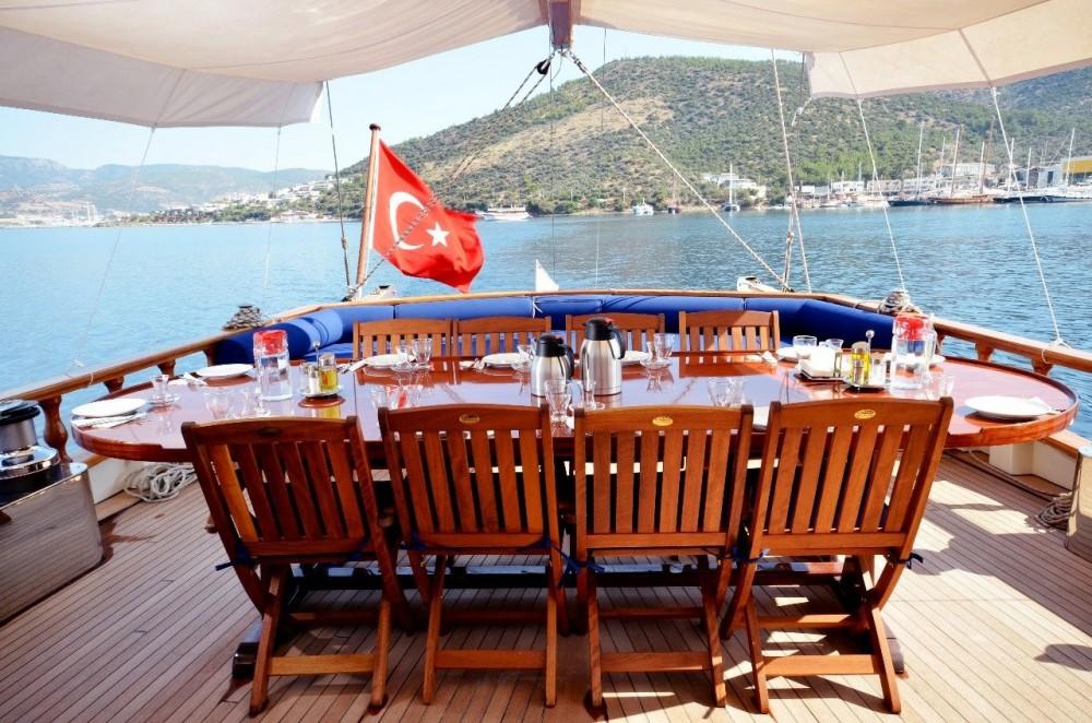 Custom Built Gulet between personal and professional Muğla