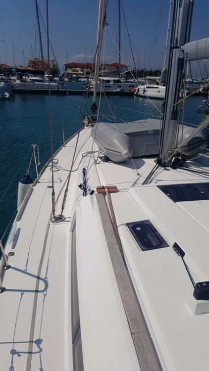 Boat rental Peloponnese, Western Greece and the Ionian cheap Sun Odyssey 479