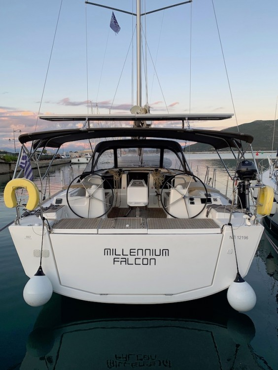 Rental Sailboat in Peloponnese, Western Greece and the Ionian - Dufour Dufour 460 Grand Large