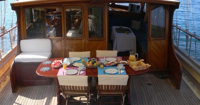 Hire Sailboat with or without skipper Gulet Custom Built Bodrum