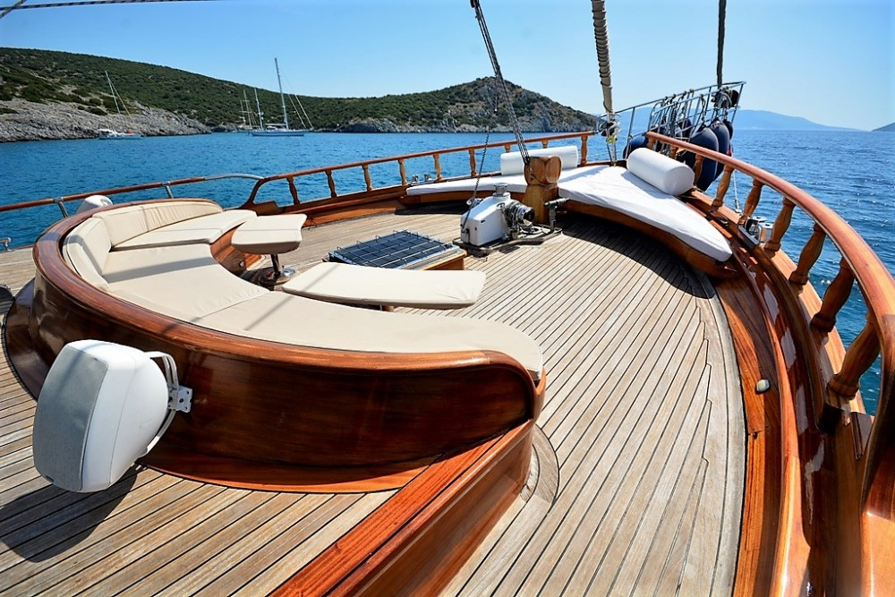 Custom Built Gulet between personal and professional Muğla