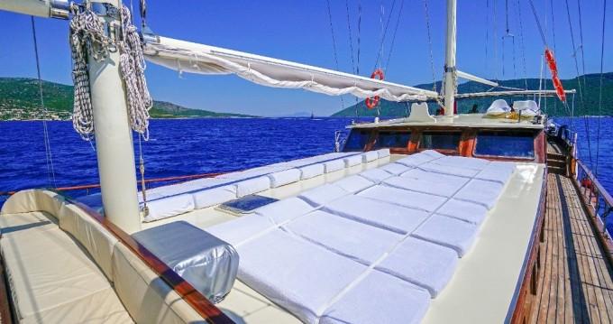 Rental Sailboat in Bodrum - custom built gulet Gulet