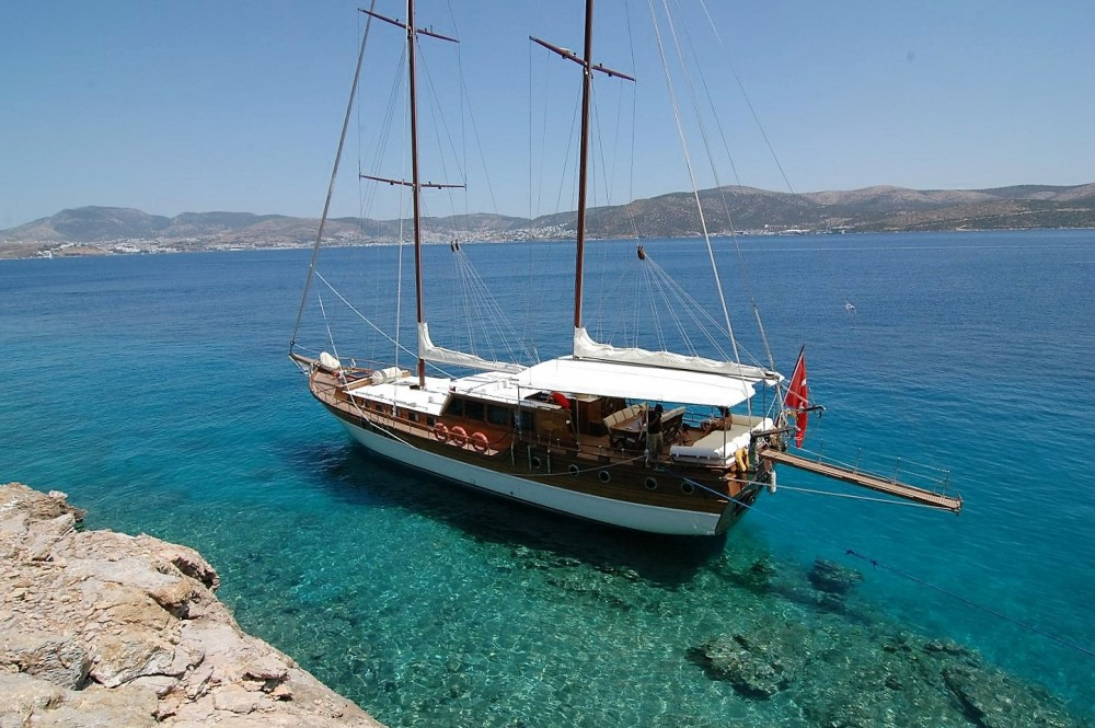 Rental Sailboat in Muğla - Custom Built Gulet