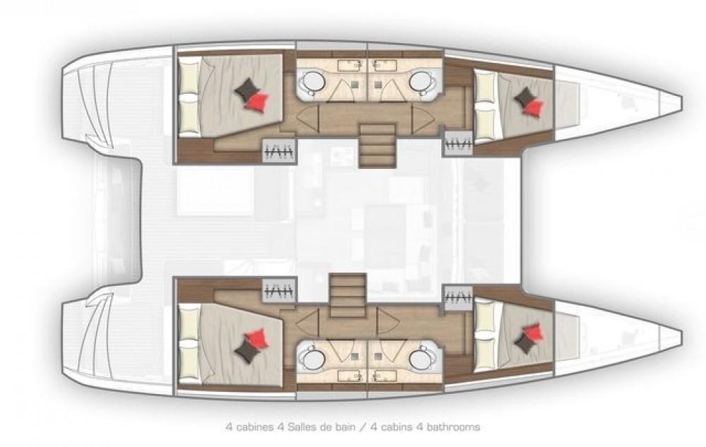 Rental yacht Athens - Lagoon Lagoon 40 on SamBoat
