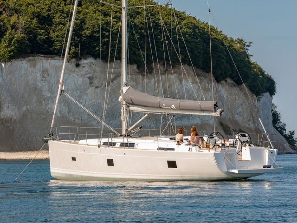 Boat rental Hanse Hanse 458 in Aegean on Samboat