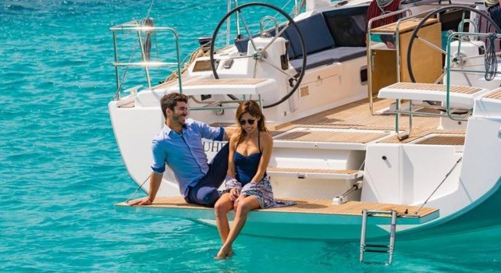 Boat rental Skiathos cheap Oceanis 411