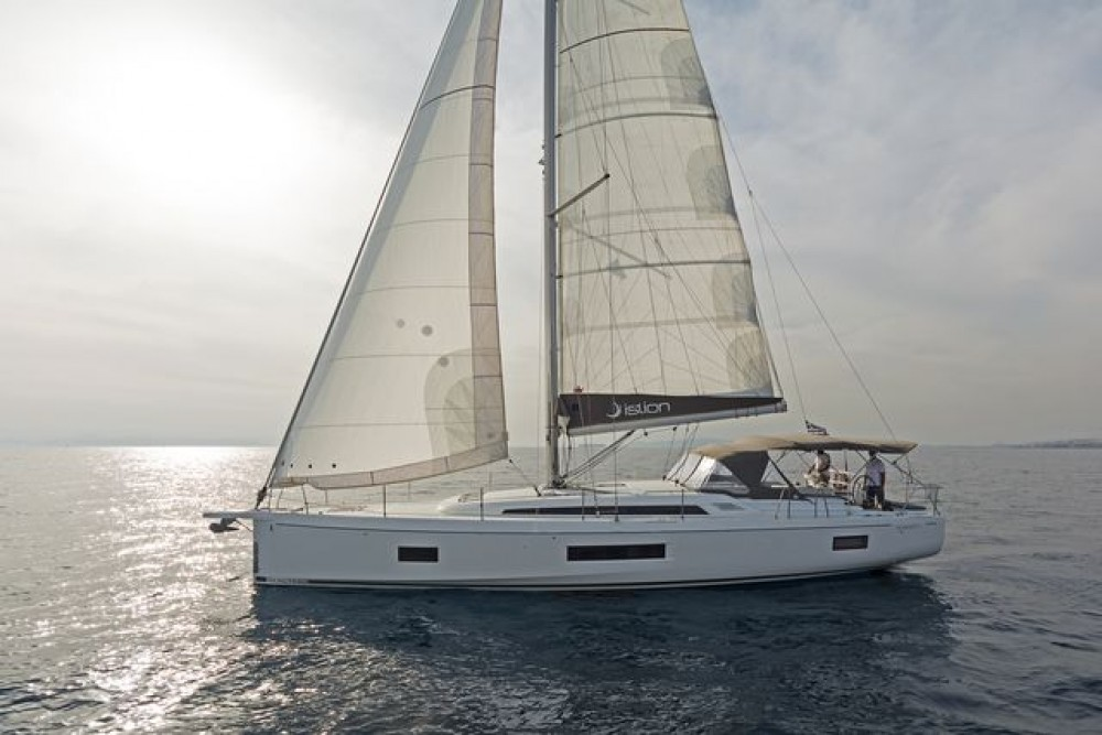 Rental Sailboat in Laurium -  Oceanis 51.1