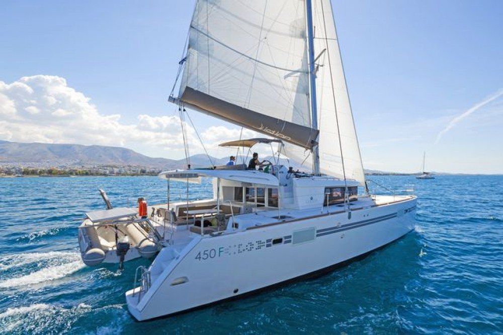 Hire Catamaran with or without skipper  Corfu