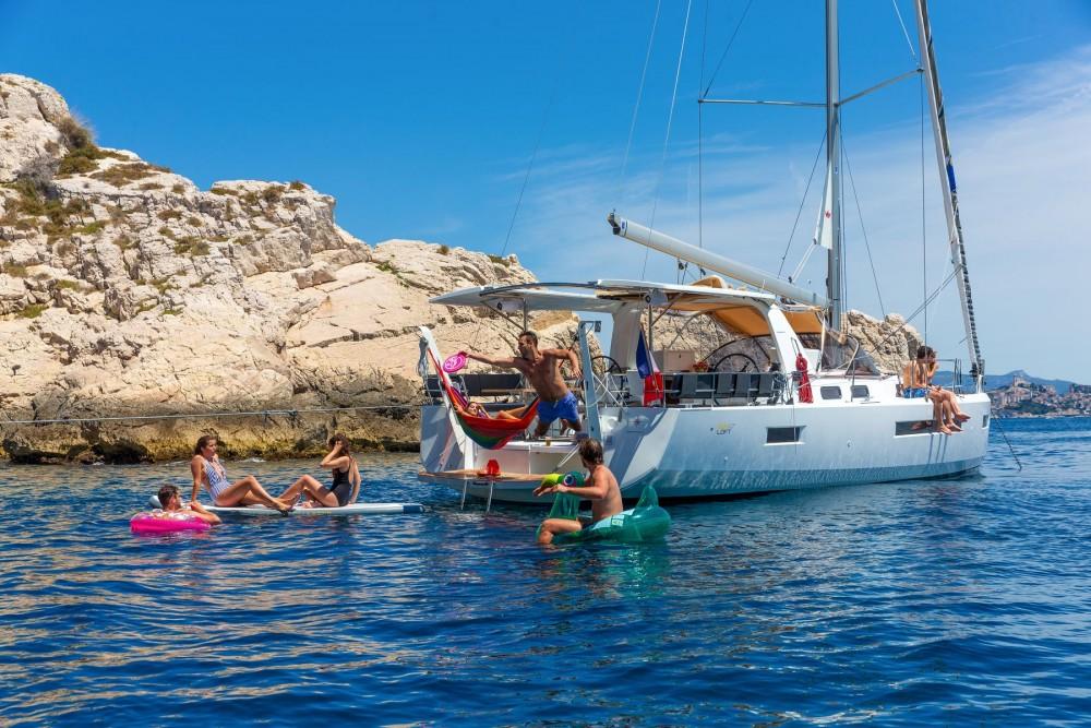 Rental yacht Kos - SUN LOFT Sun Loft 47 on SamBoat