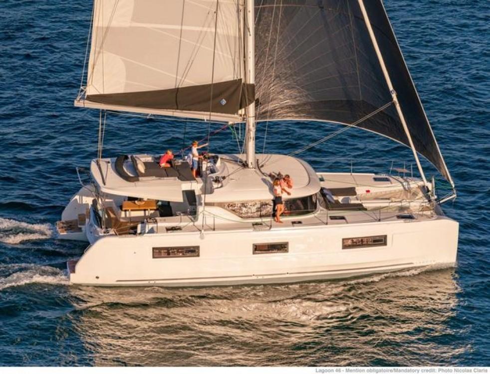 Rental Catamaran in Aegean - Lagoon Lagoon 46