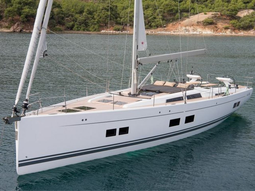 Rental Sailboat in Aegean - Hanse Hanse 588