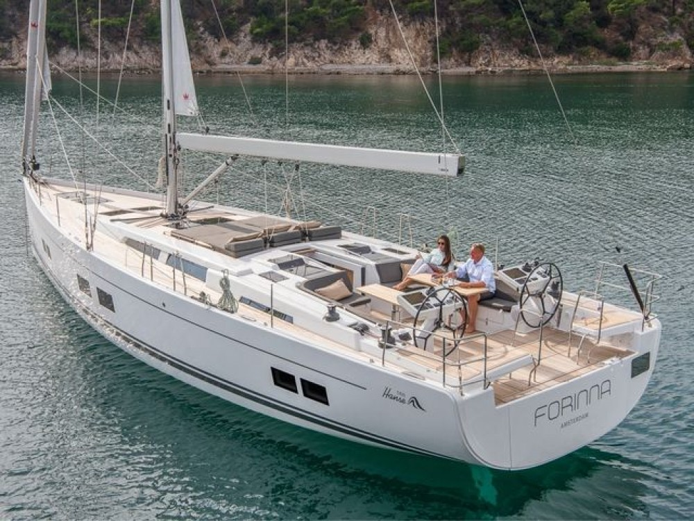 Hire Sailboat with or without skipper Hanse Aegean
