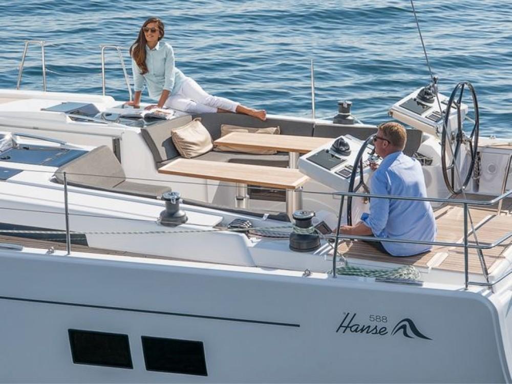 Boat rental Municipality of Kos cheap Hanse 588
