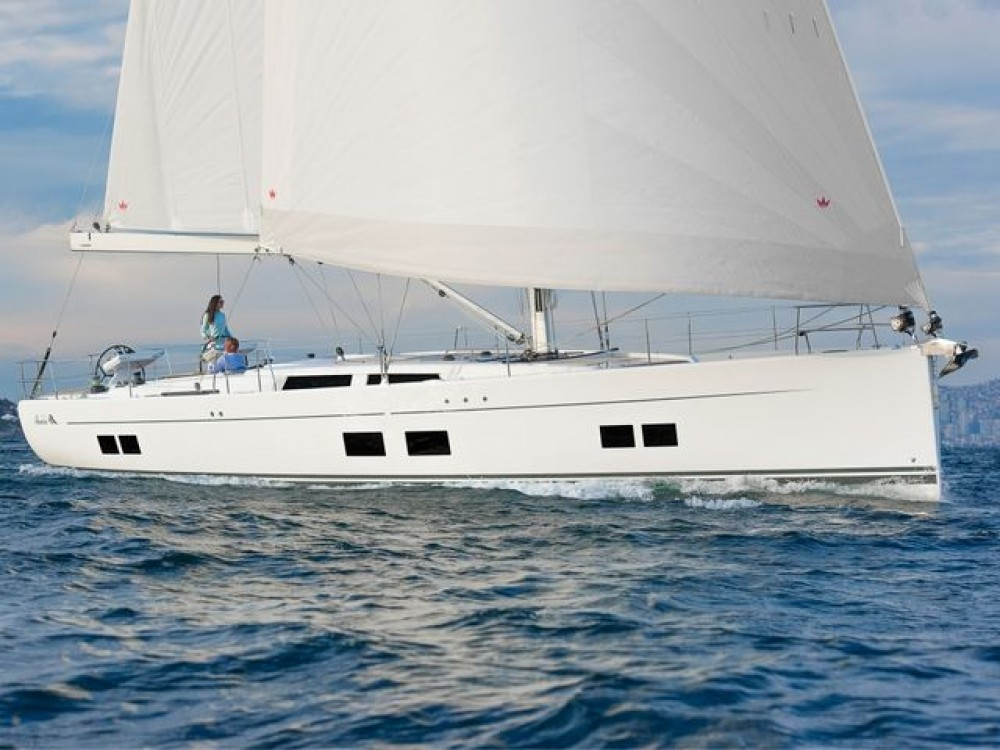 Boat rental Aegean cheap Hanse 588