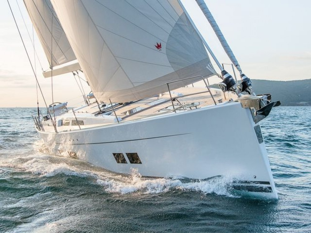 Hanse Hanse 588 between personal and professional Aegean