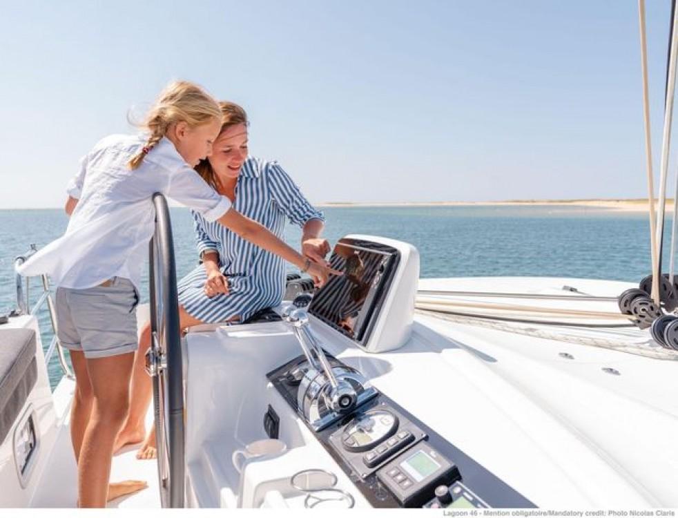 Rental yacht Athens - Lagoon Lagoon 46 on SamBoat