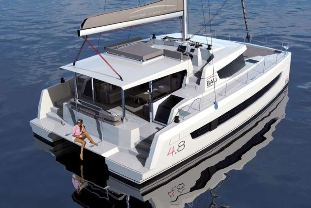 Hire Catamaran with or without skipper Bali Catamarans Corfu