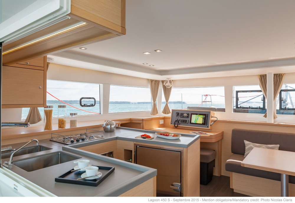 Boat rental Kos cheap Lagoon 450