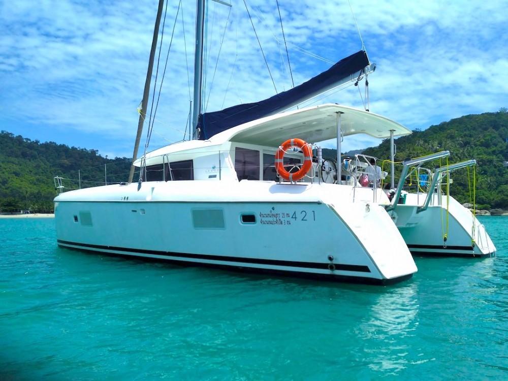 Boat rental Thailand cheap Lagoon 421