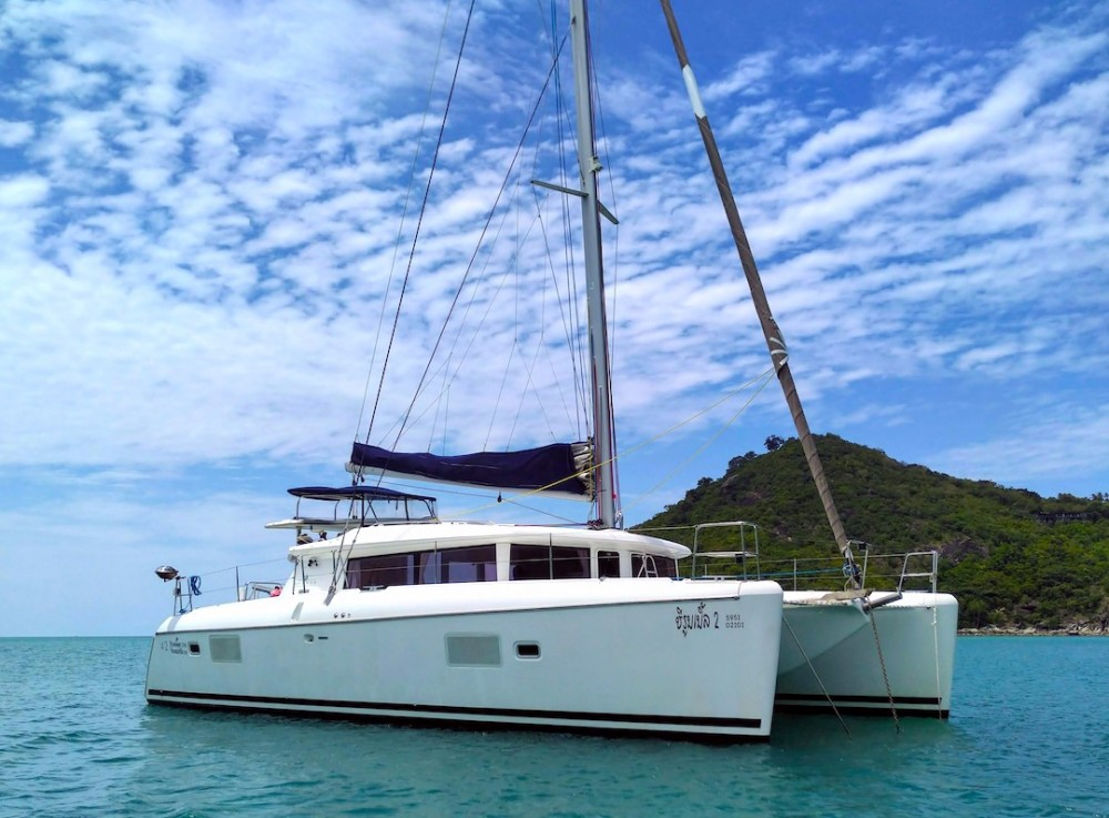 Catamaran for rent Ko Samui at the best price