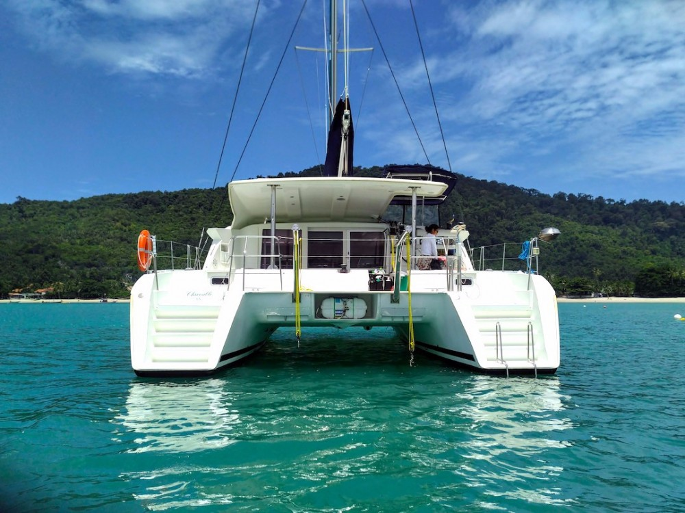 Rental Catamaran in Ko Samui - Lagoon Lagoon 421