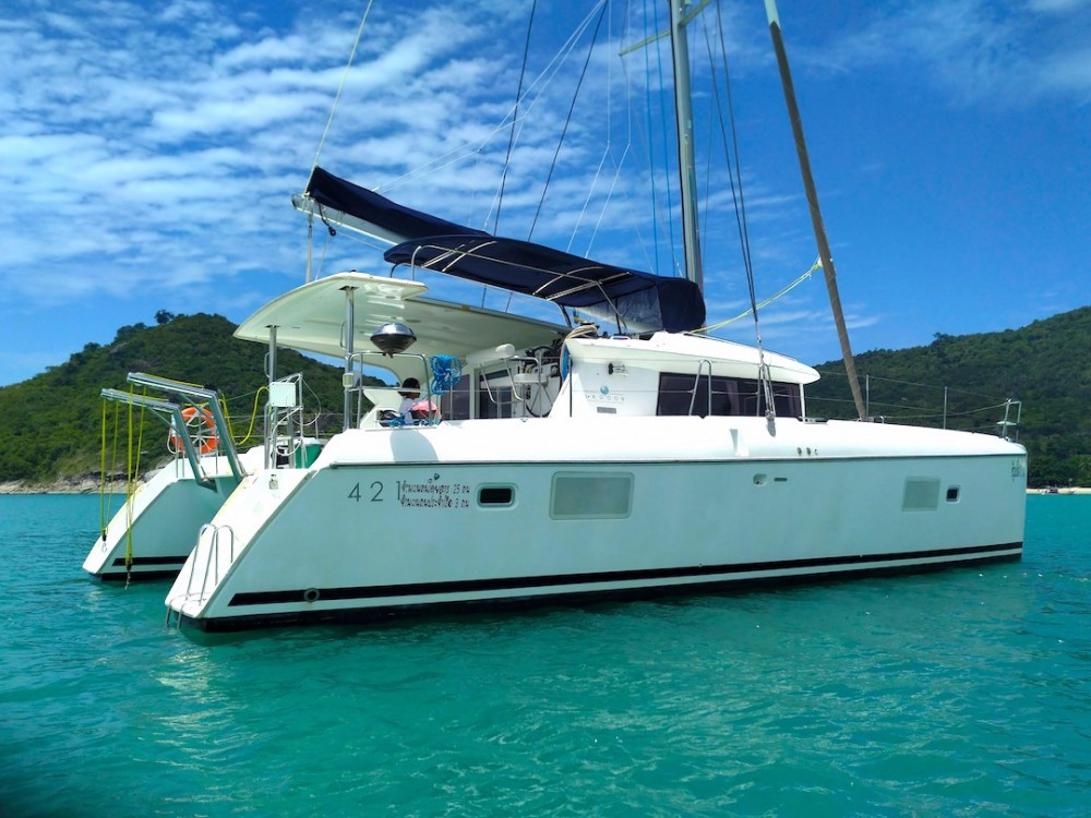 Boat rental Ko Samui cheap Lagoon 421