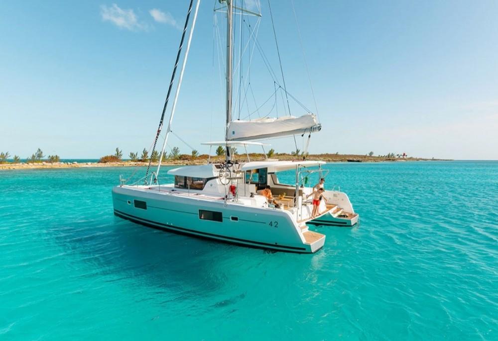 Boat rental Olbia cheap Lagoon 42