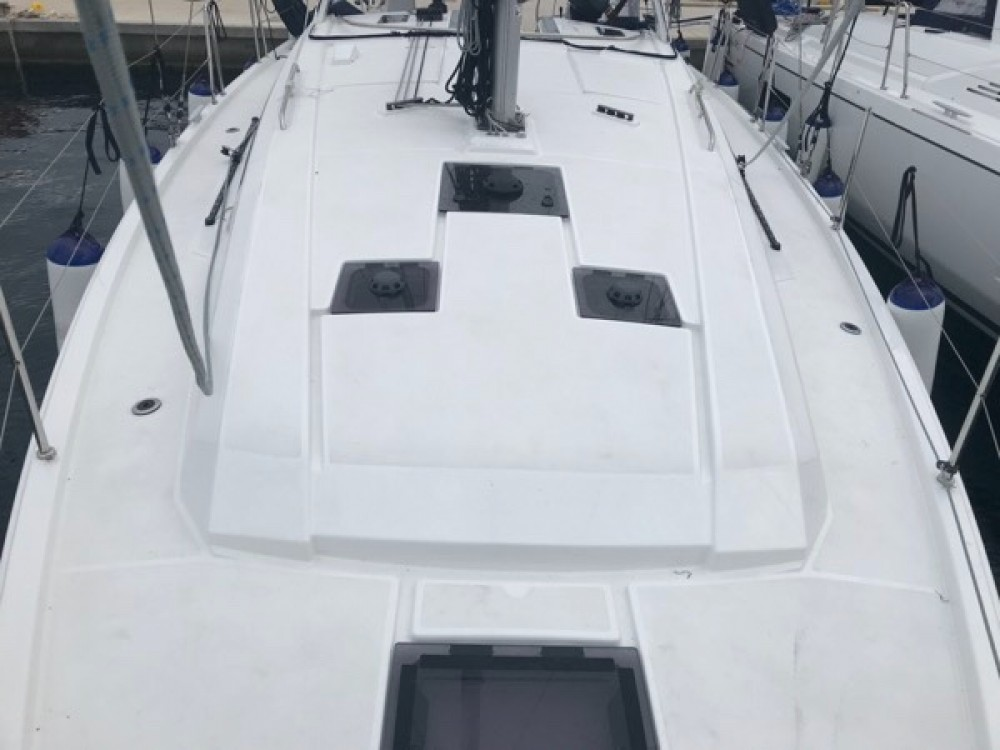 Rental Sailboat beneteau oceanis  with a permit