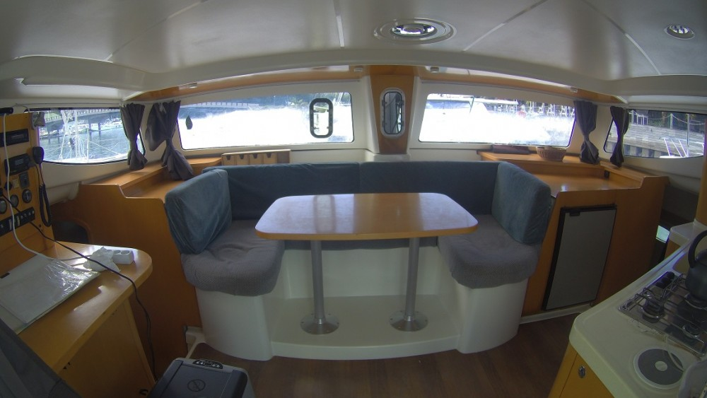 Fountaine Pajot Mahe 36 Evolution between personal and professional Seychelles