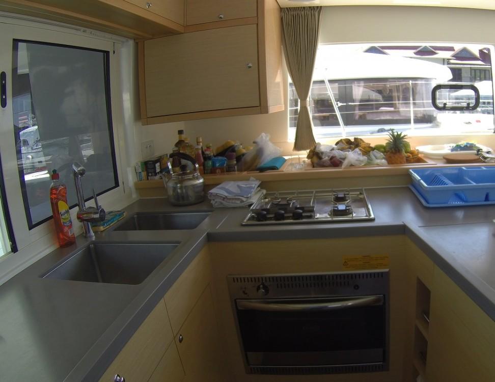 Rental Catamaran in Seychelles - Lagoon Lagoon 450