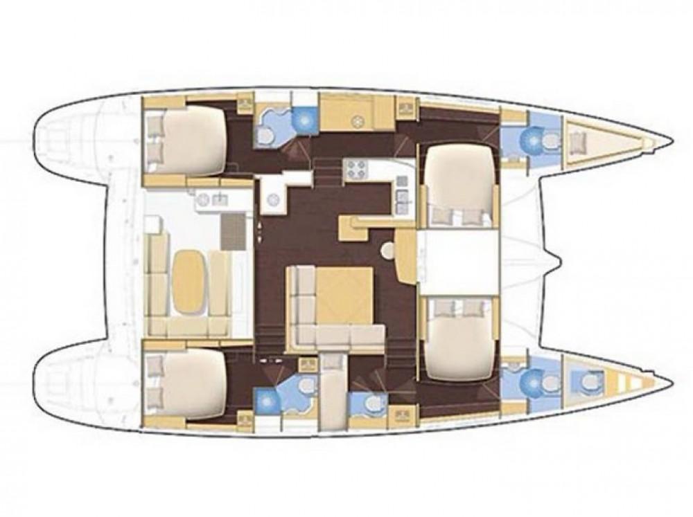 Hire Catamaran with or without skipper Lagoon Catamaran Athènes