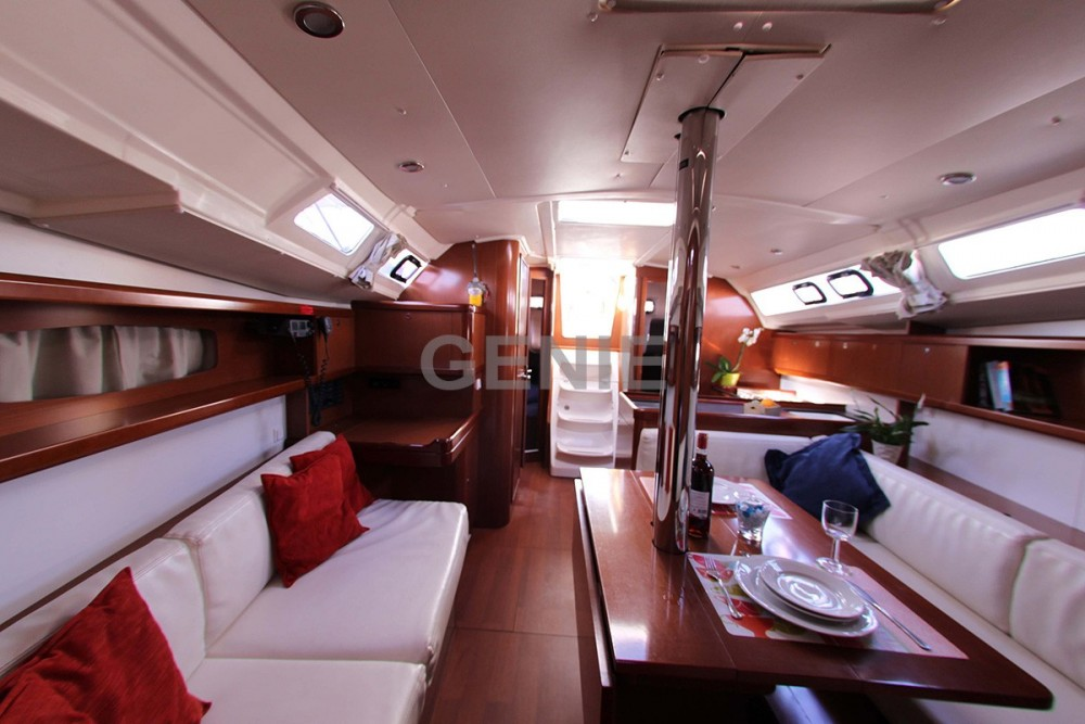 Boat rental Athens cheap Oceanis 37