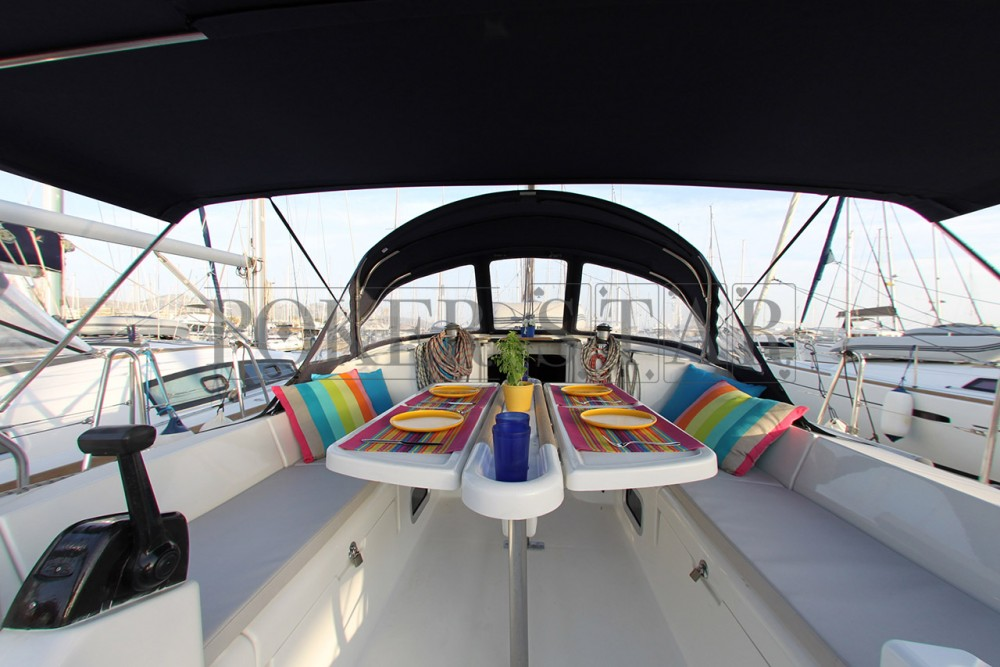 Bénéteau Oceanis 473 between personal and professional Athens