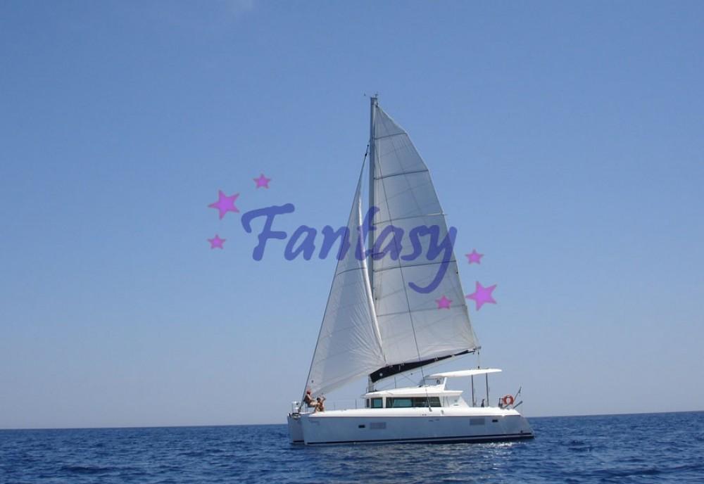 Boat rental Athens cheap Lagoon 420
