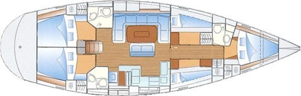 Rental Sailboat in Athènes - Bavaria Bavaria 49