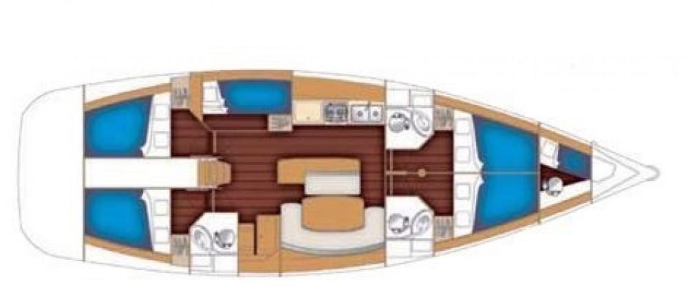 Rental yacht Athens - Bénéteau Cyclades 50.5 on SamBoat