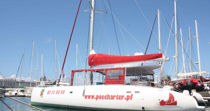 Rental yacht Polinesia francese - Ocean Voyager Maxicat 53 on SamBoat