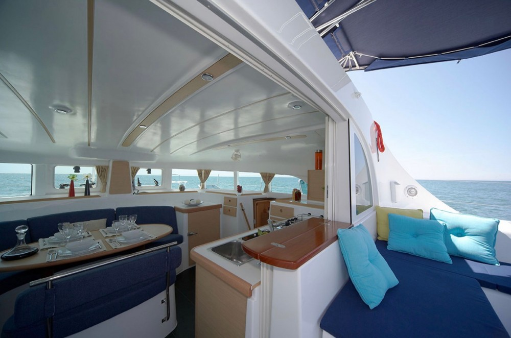 Catamaran for rent Punaauia at the best price