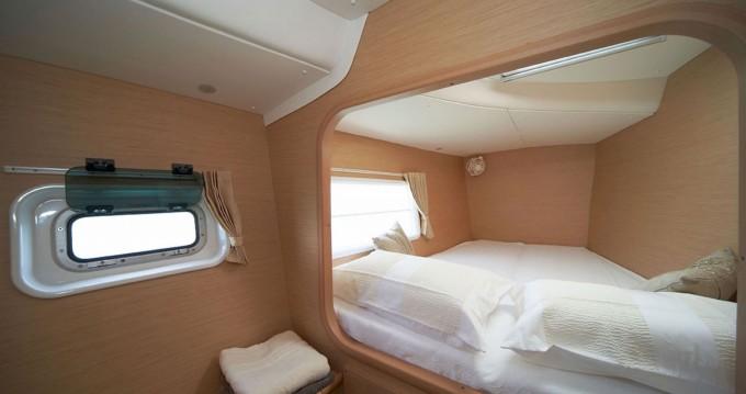 Hire Catamaran with or without skipper Lagoon Tahiti