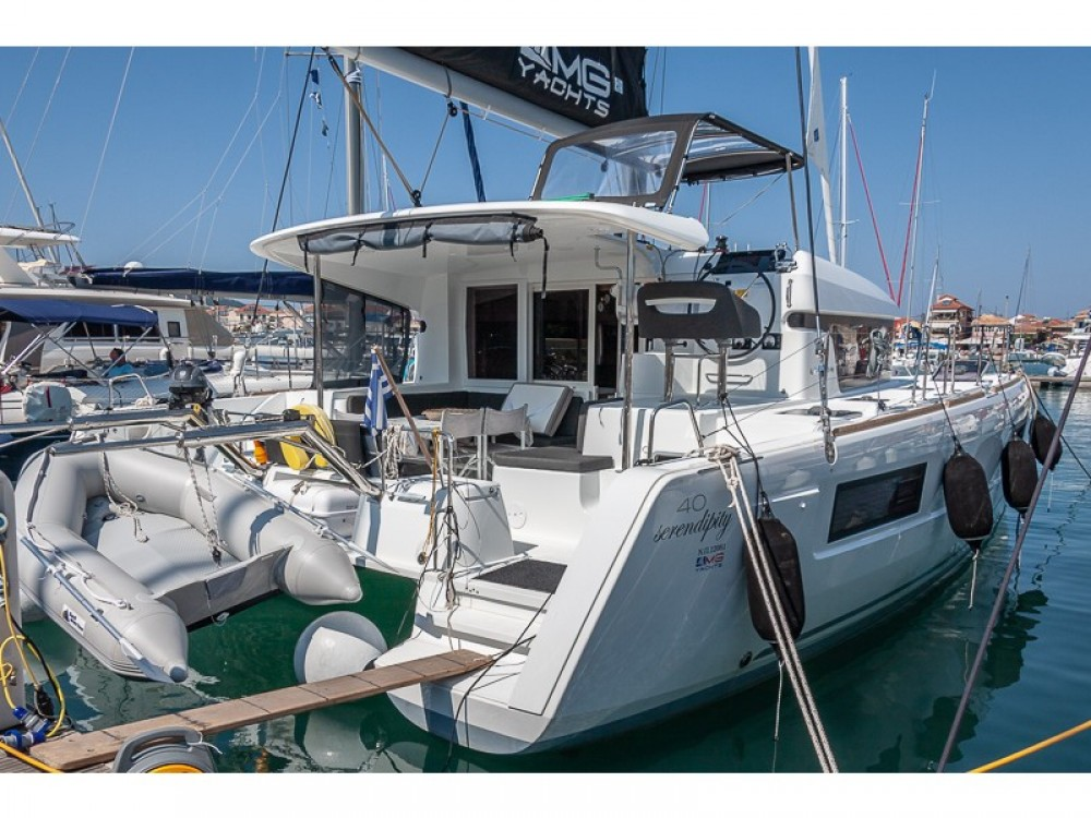 Boat rental Peloponnese, West Greece and Ionian Sea cheap Lagoon 40 Power Catamaran